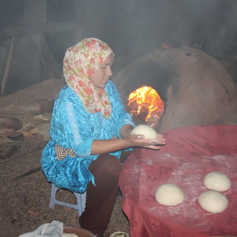 Maroko-pieczenie chleba