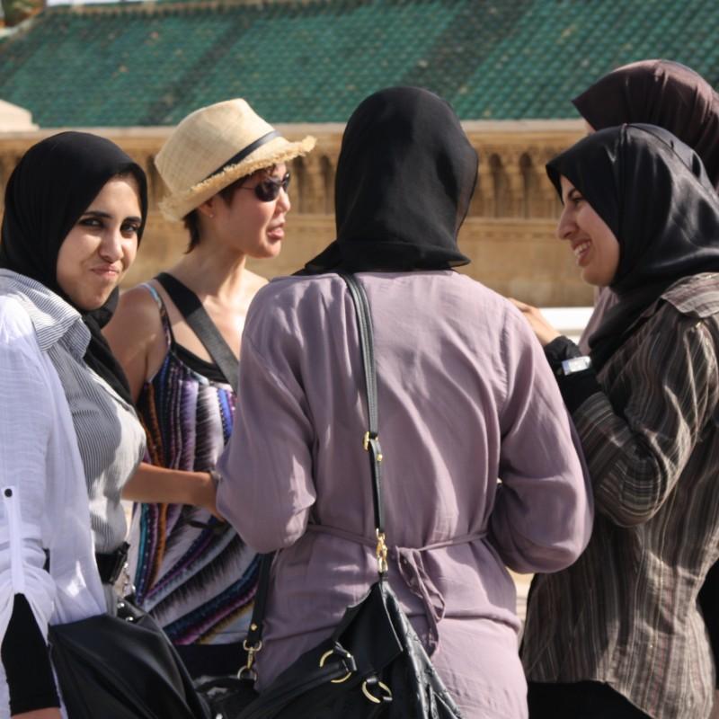 Pogaduszki pod meczetem