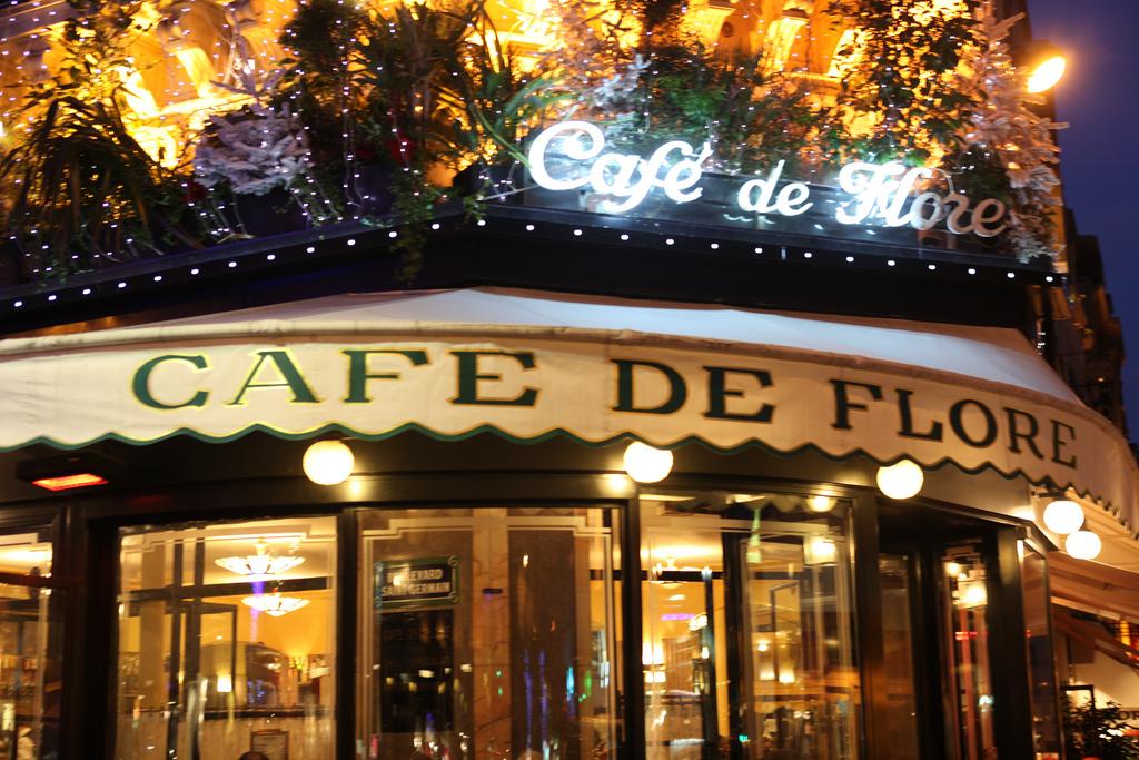 Cafe de Flore w Paryżu