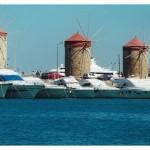 Grecja. Rodos – port
