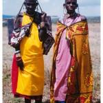 Kenia. W wiosce Masajów