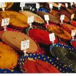 Maroko. Przyprawy na suku
