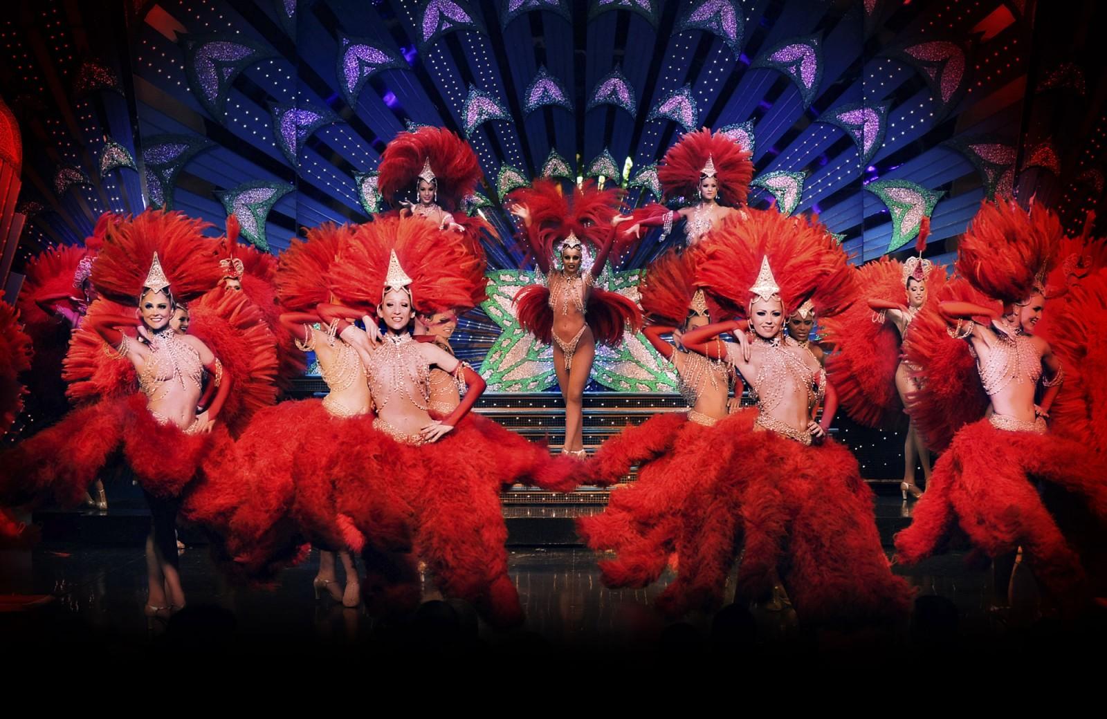 Moulin Rouge-rozpoczęcie spektaklu