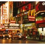 USA. NY by night
