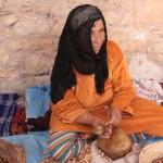 Maroko. Wytwórnia olejku arganowego