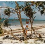 Kenia. Plaża w Mombasie