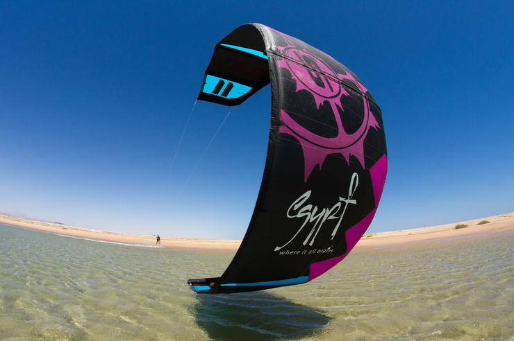 Egipt_kitesurfing